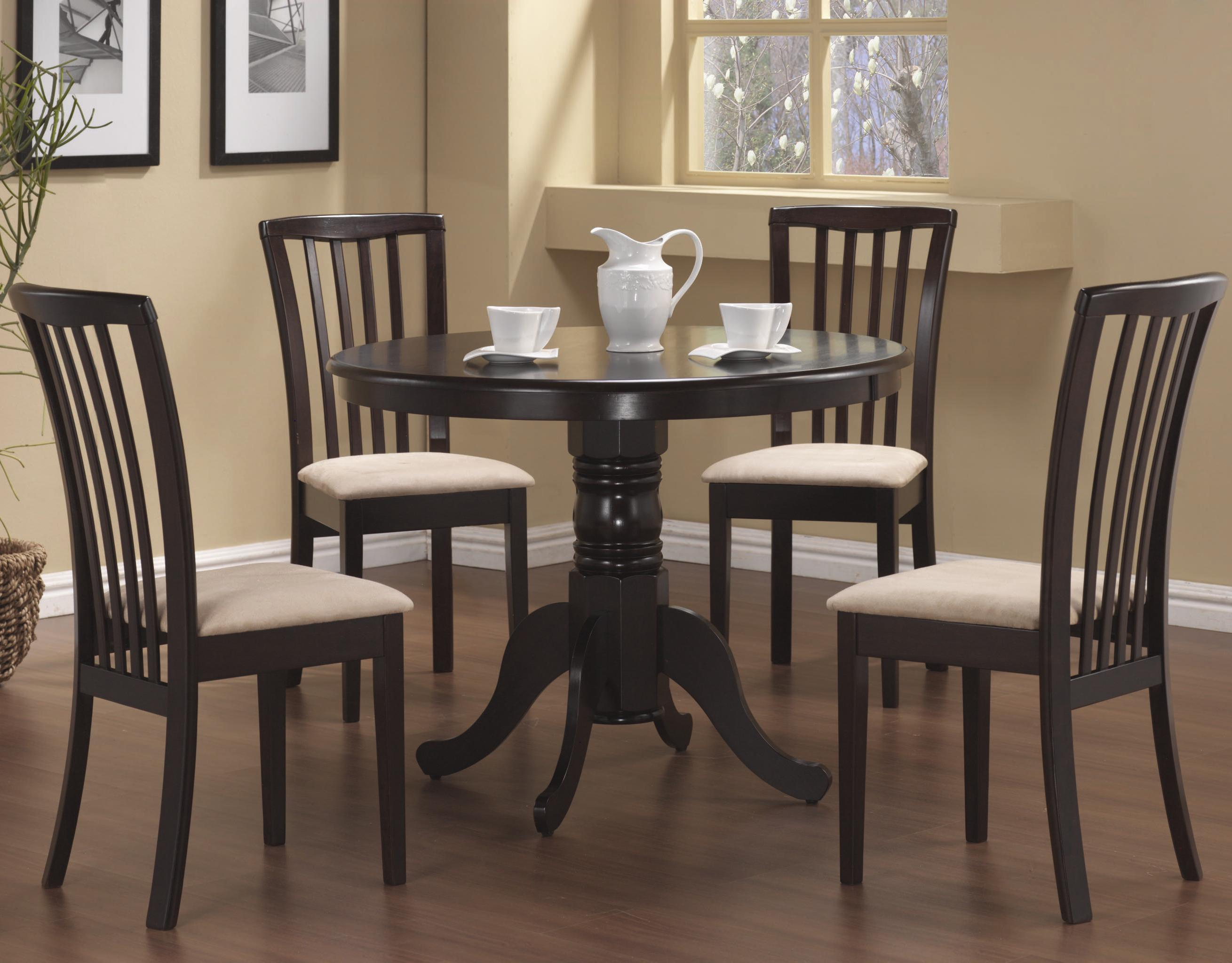 Coaster 101081 Brannan Table And Chairs Curley S Furniture Store Des Moines Iowa