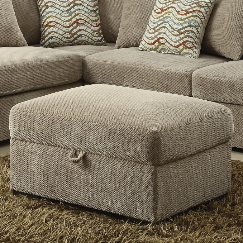 Coaster 500044 Olson Reversible Sectional Curley S