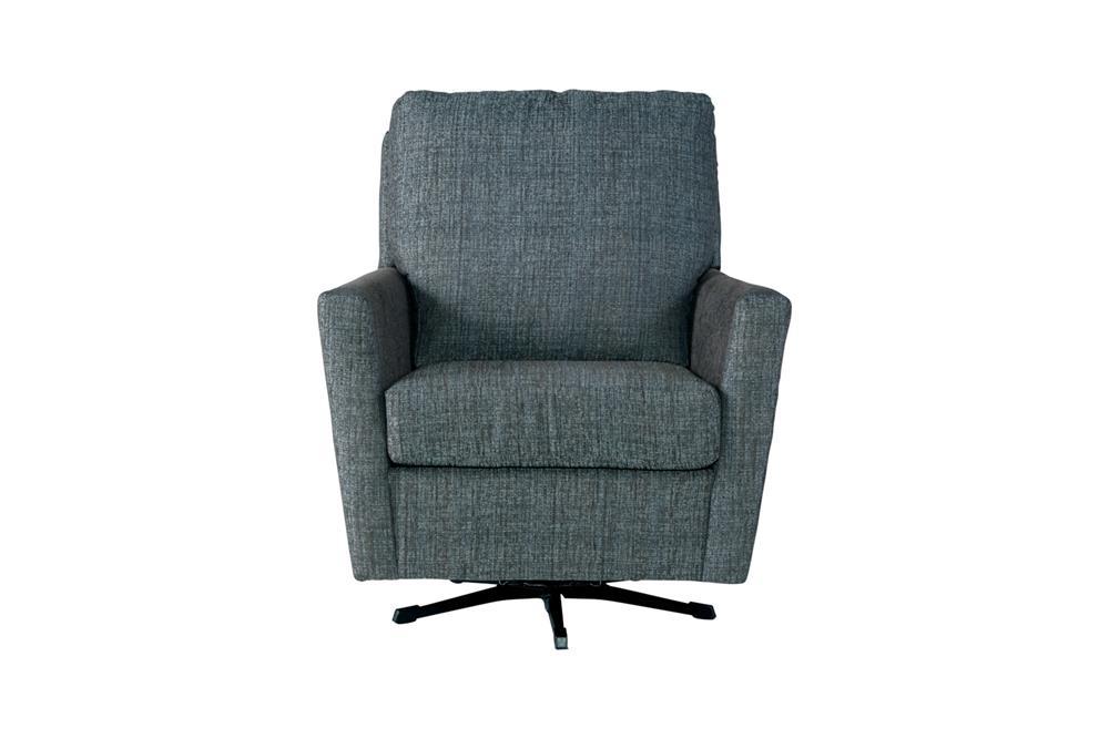 Serta 55 Follo Teal Swivel Rocker Curley S Furniture