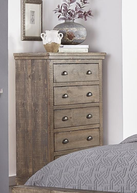 Progressive P635 Willow Weathered Gray Finish Curley S