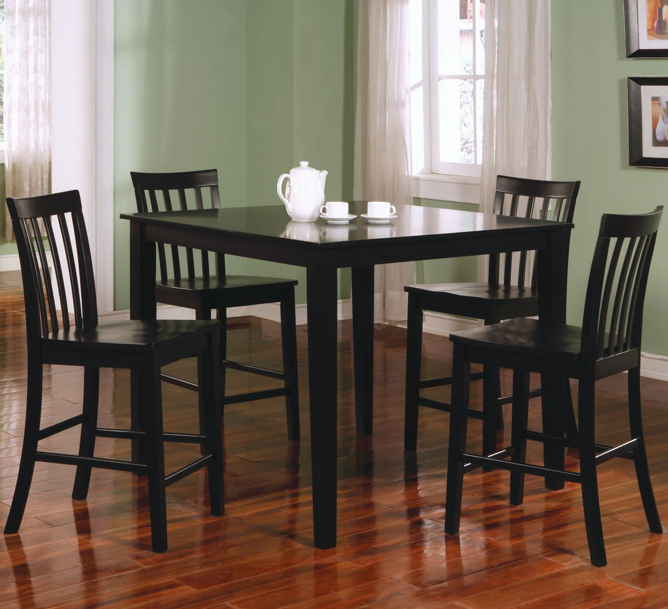 Coaster 150231 Ashland Counter Height Table And Stools Curley S