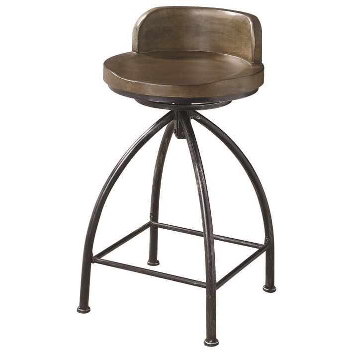 Fantastic Coaster 182047 Antique Nutmeg 24 Counter Height Stool Bralicious Painted Fabric Chair Ideas Braliciousco