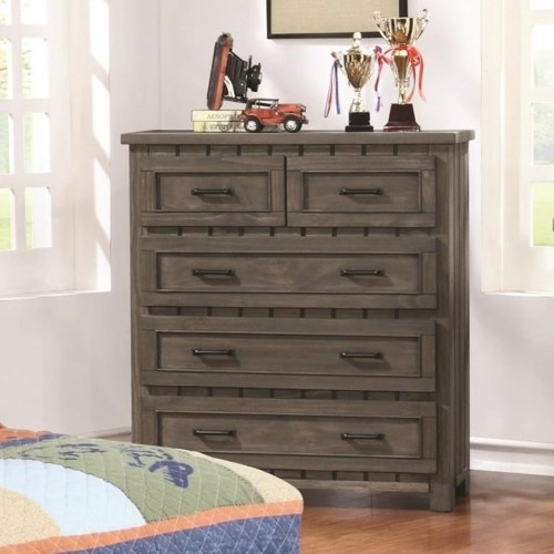 Ordinaire Coaster #400935 Napoleon Collection Gunsmoke 5 Drawer Chest