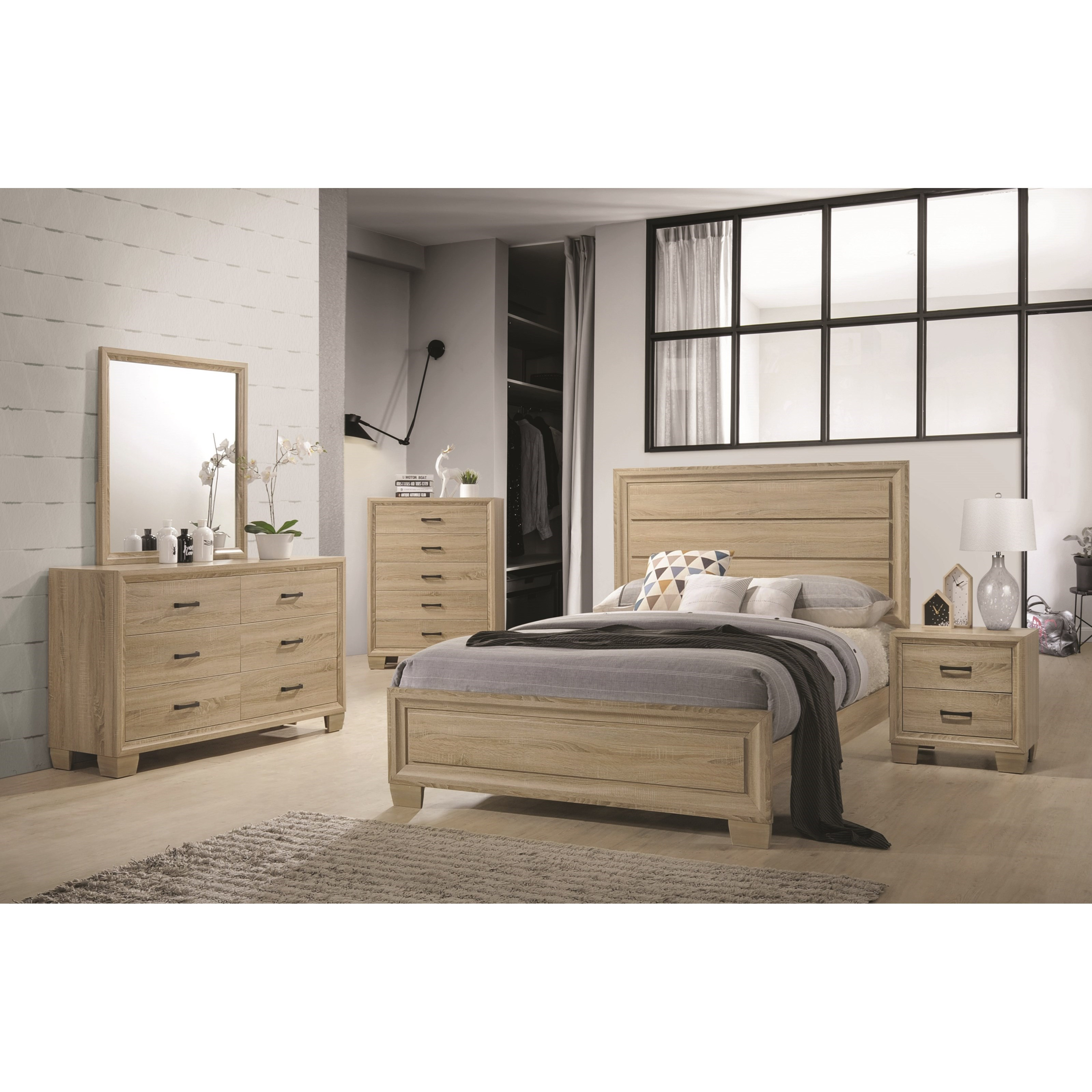 Coaster #206351 Vernon Bedroom Group - Curley\'s Furniture Store ...
